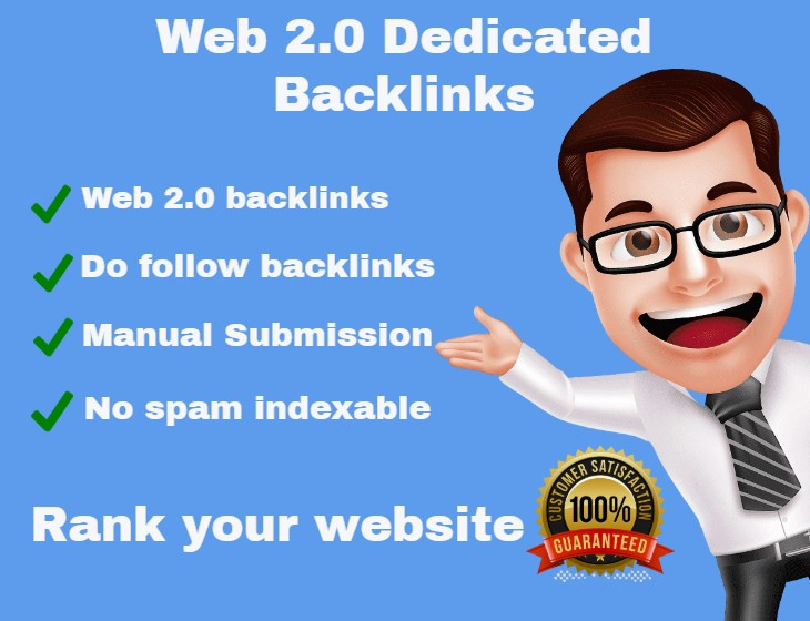 I will create 50 High DA PA web 2 0 blogs backlinks