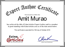 write 500 Words Original Article and Aubmit To EzineArticles