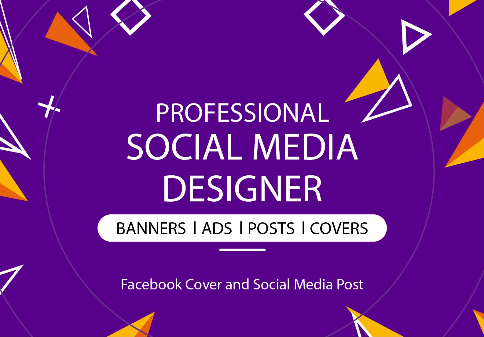I will design any kind of social media post and Facebook Cover design