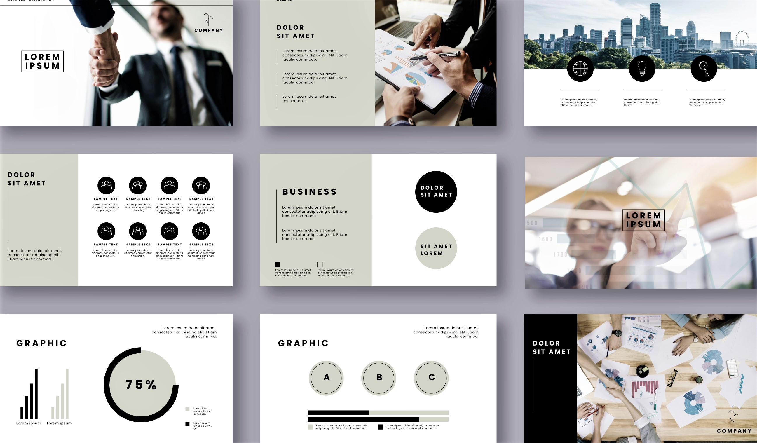 I will design professional and modern powerpoint presentation