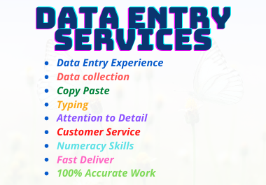 Fast and Accurate online Data Entry & Data Collection
