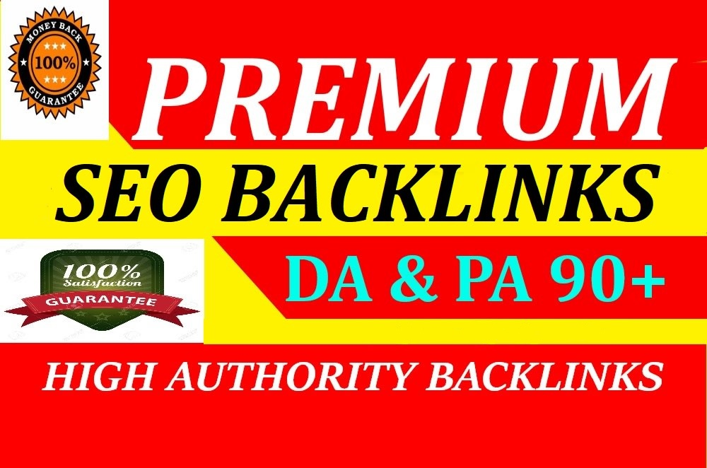 google ranking with manual high quality SEO backlinks