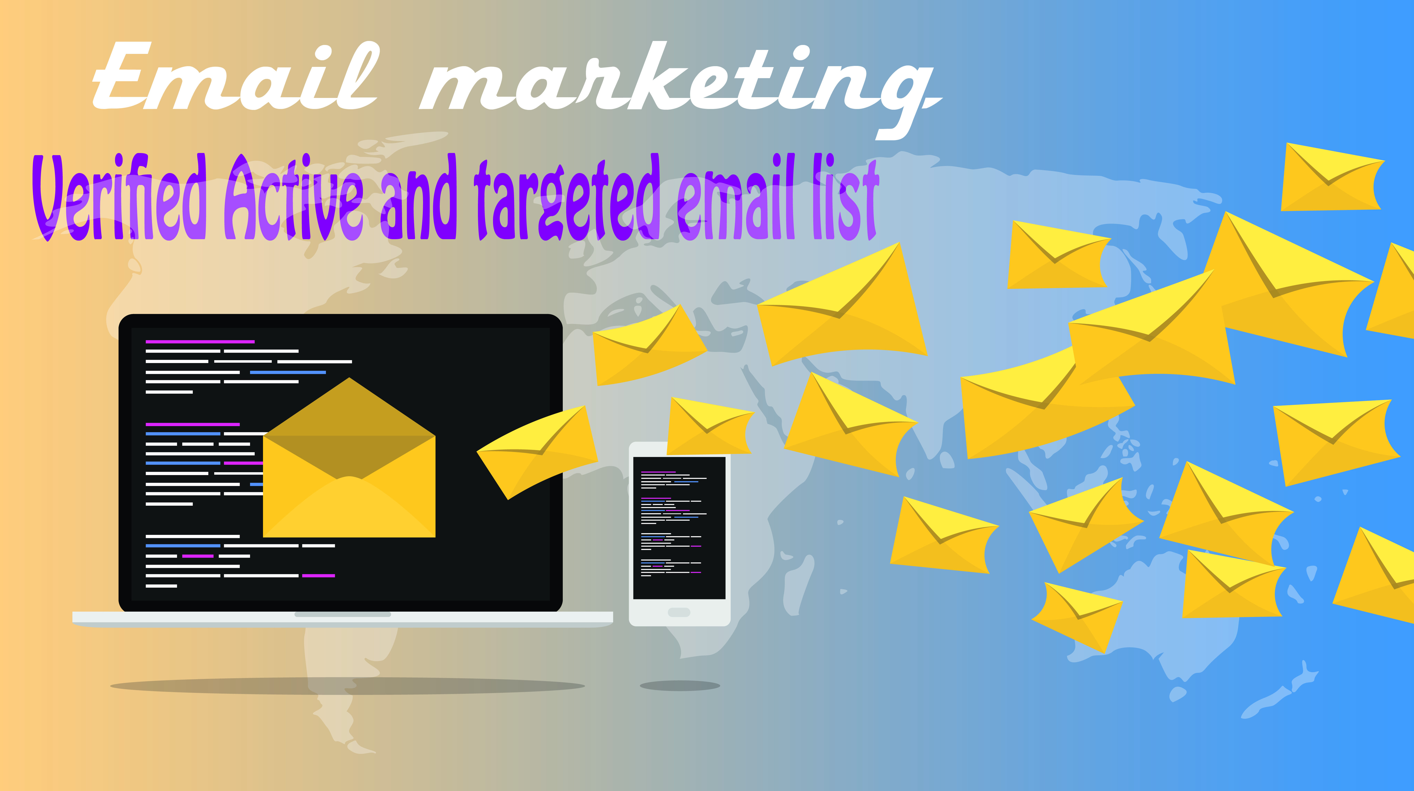 I will provided you 1000 targeted email list