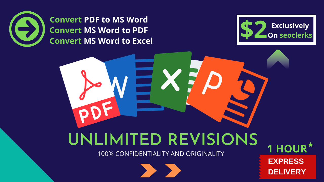 I will convert pdf to word,  convert file or word to pdf or edit document
