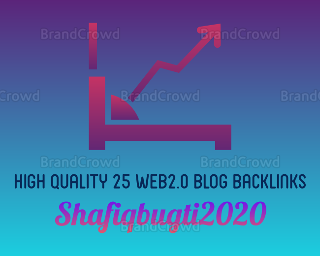 High quality 25 Web2.0 Blog Backlinks With Login Info For 20 hrs