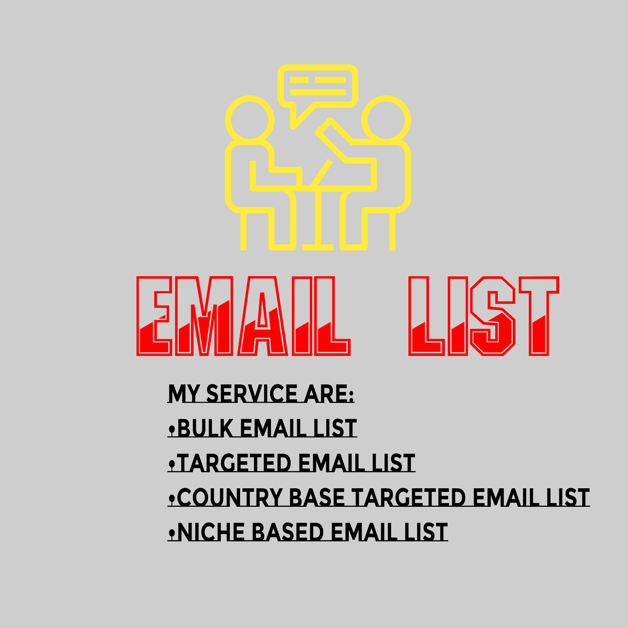 I will do 8k targeted bulk email collection and active Email Listing