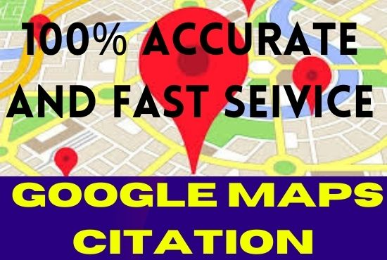 create 1k google maps citations and dirtection