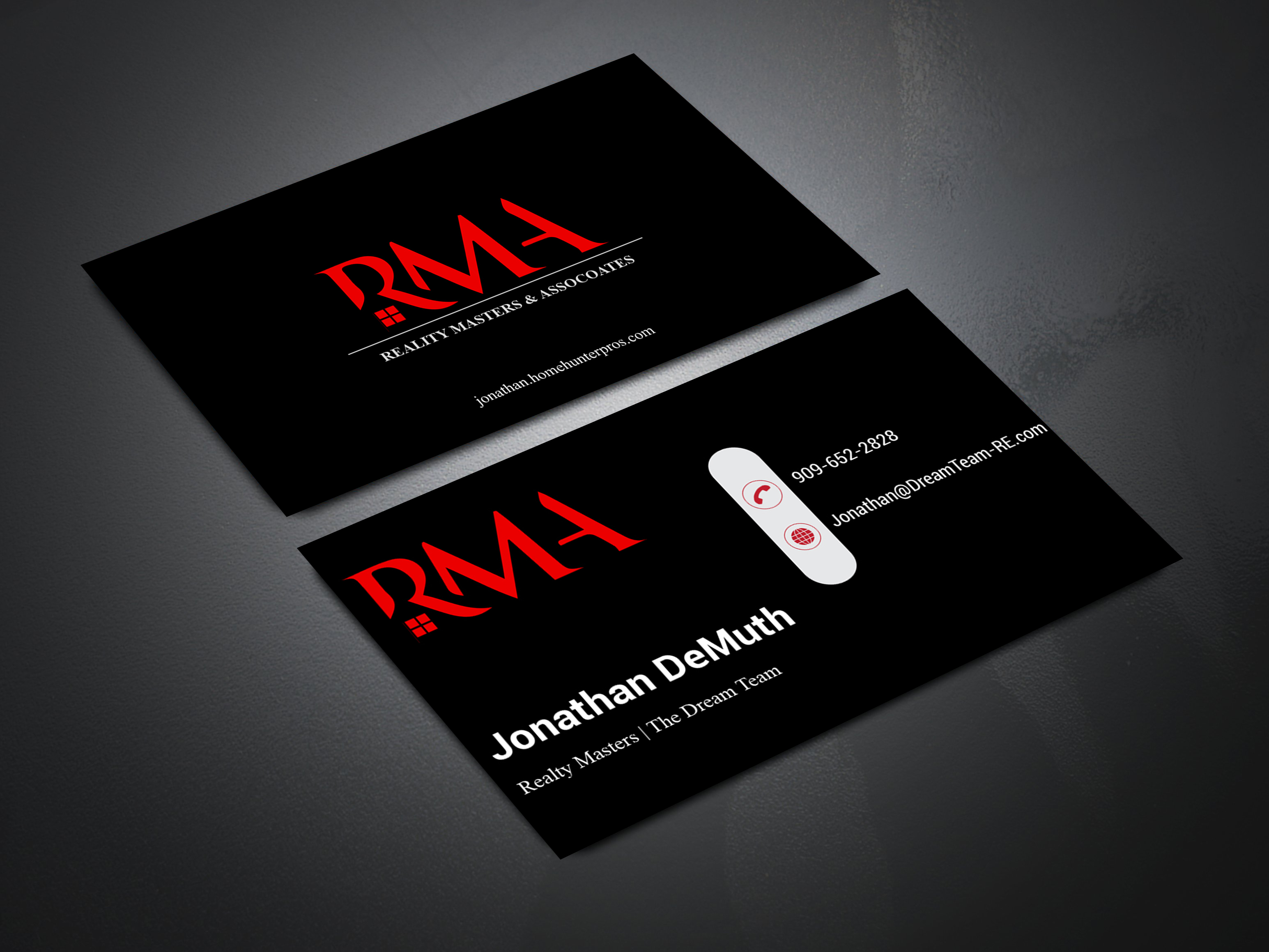 I will design an Authentic formal and Professional Business card