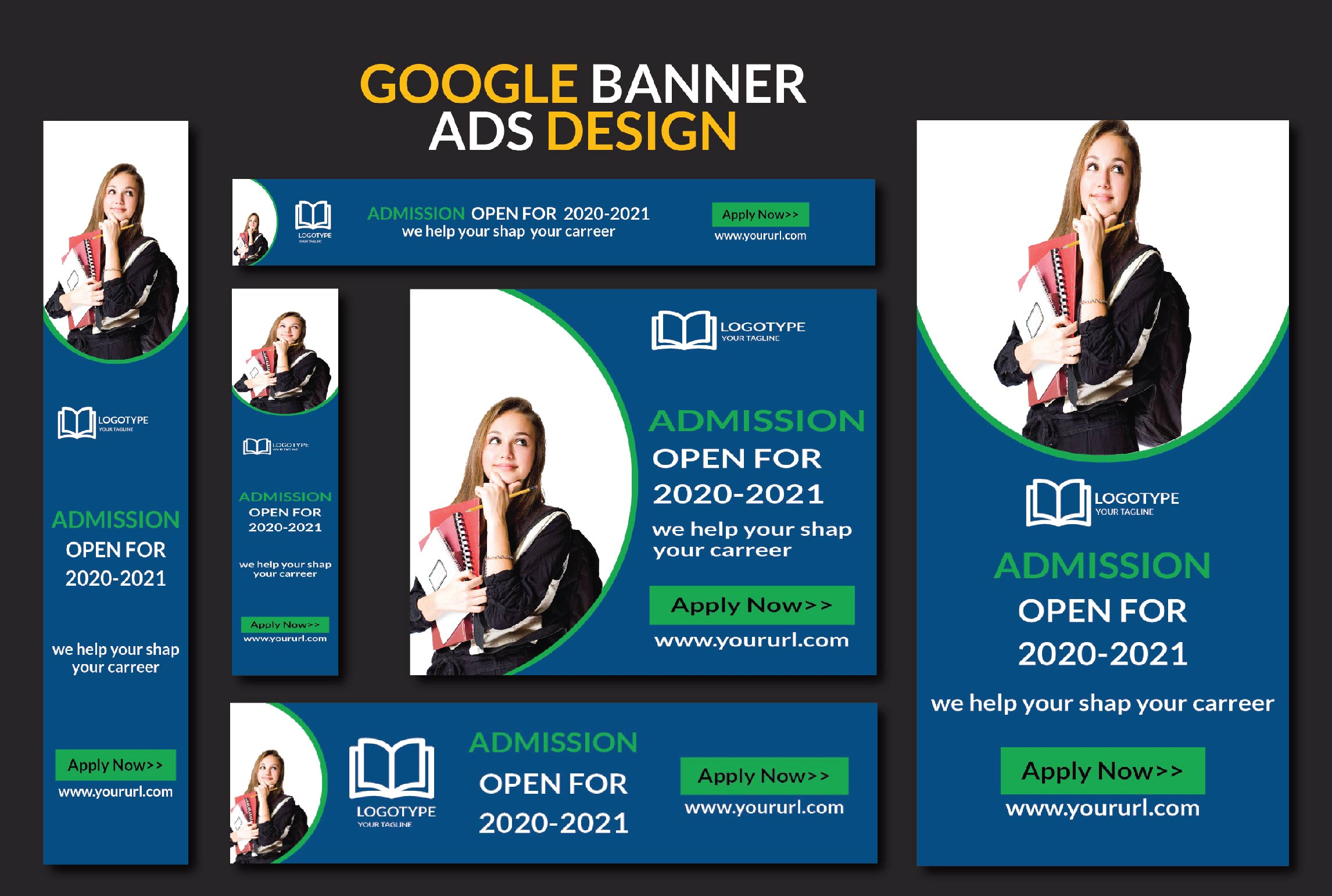 I will do professional eye catching banner ads,  Adwords,  display ads design