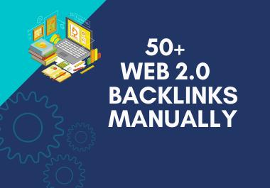 I Will Create 50+ Web 2.0 Backlinks Manually
