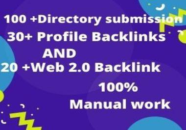 I will do 150+ high authority mix backlinks manually for SEO ranking