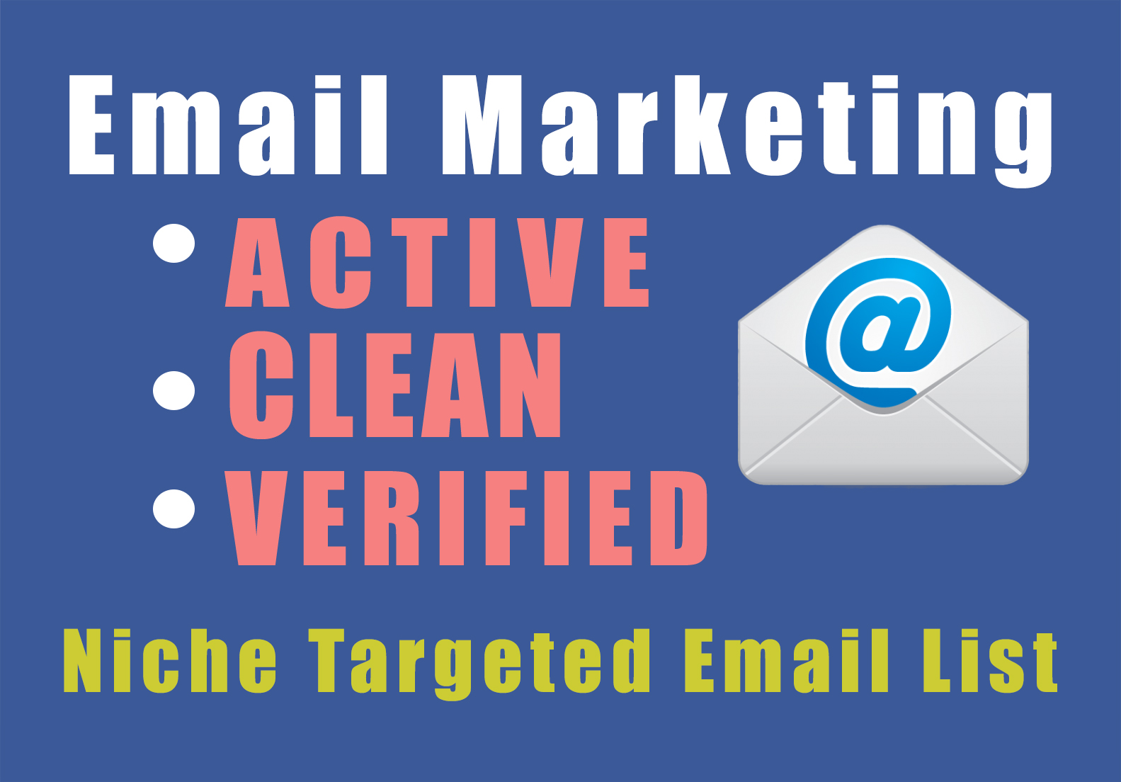 Provide you world wide 1000 Email list for marketing your business