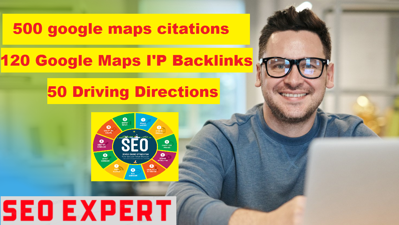 Rank your Business,  website & GMB with google maps citations & backlinks