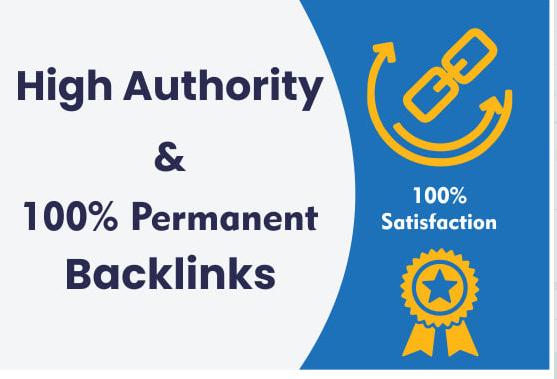 I will create 20 da70 pr9 high authority seo dofollow backlinks