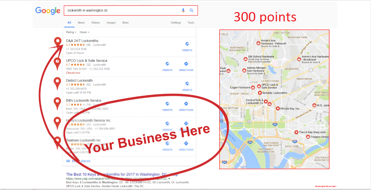 I will do 700 google maps citations for local business SEO