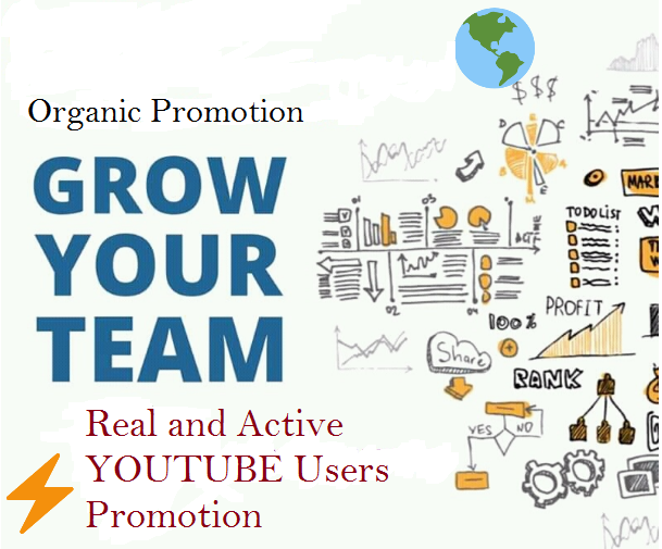 YouTube Organic Promotion. Executive service