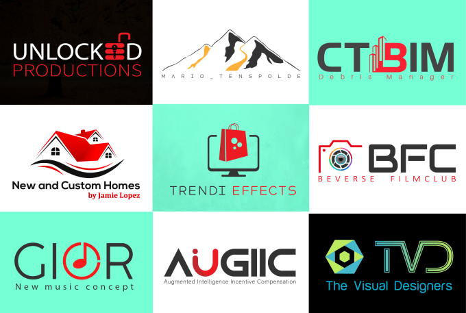 Design Unique & Creative Minimalist Business Logo Design