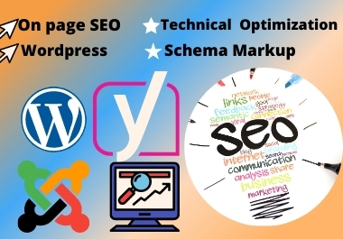 I will do technical and on page SEO optimization of wordpress website with yoast