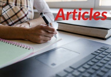 10 x 500 words content / Articles writing for your blog or website