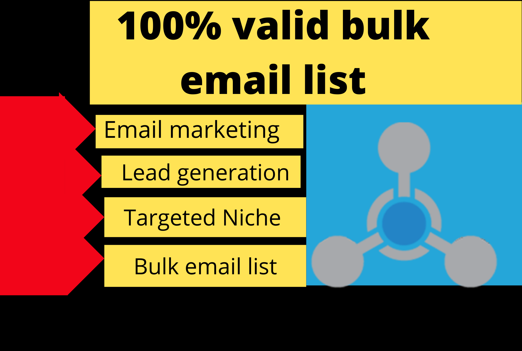 I will provide you 2000 bulk email list