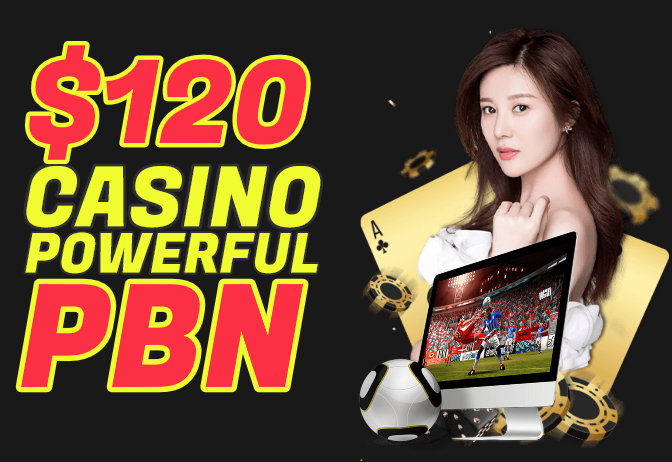 i will improve your casino website and whitehat seo baclinks avialable