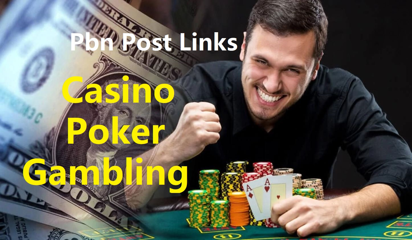 Get 400 high QUALITY DA 55+ CASINO, GAMBLING, POKER pbn backlinks