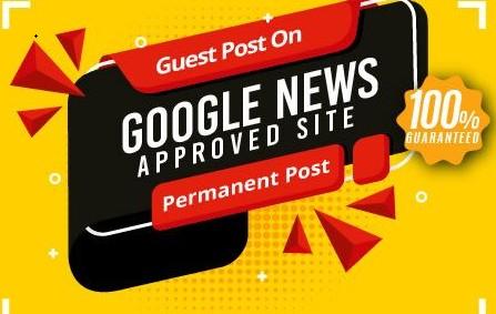GOOGLE NEWS APPROVED website high DA backlink
