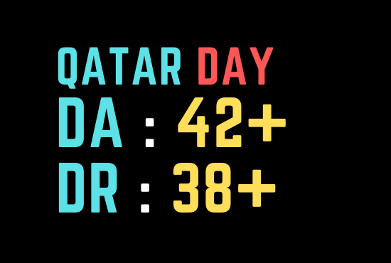 I Will do guest post on qatarday