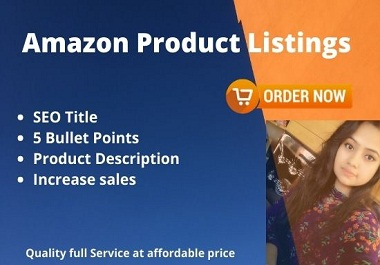 I will write product description for your Amazon listings