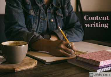I will write quality blog posts,  articles,  and website content up to 1000 words