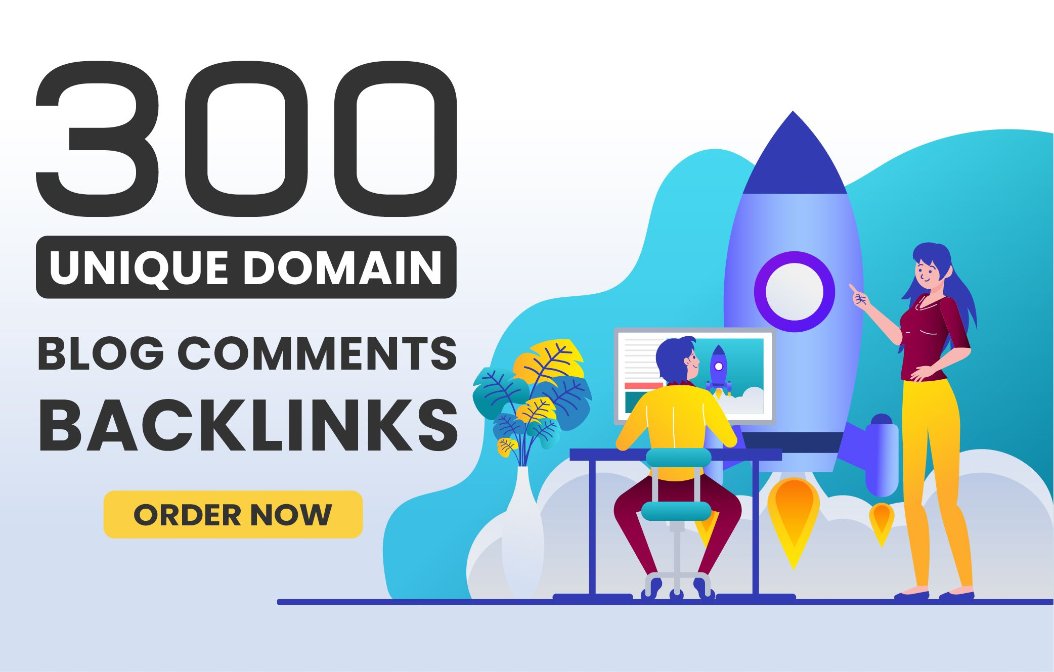I will create 300 do follow high quality blog comments