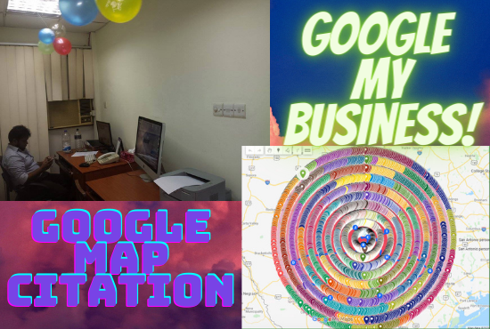 3000 Google Map Citation for local SEO & Google my business.