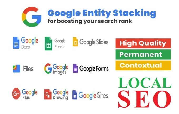 I will do google stacking authority backlink using stack method