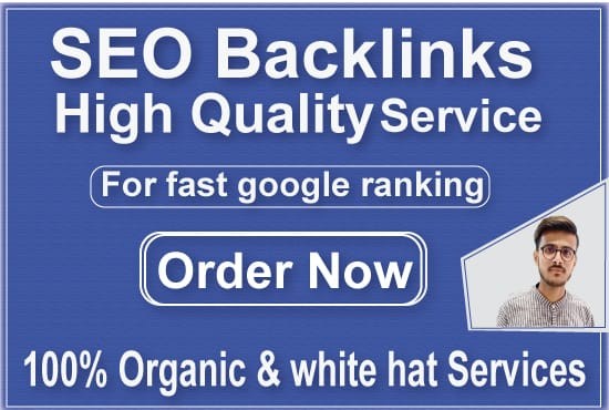 I will provide 110 high authority seo backlinks with high da