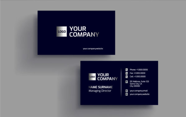 I will do modern unique business card for your business.