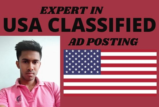 I will submit 50 USA classified ad posting manually