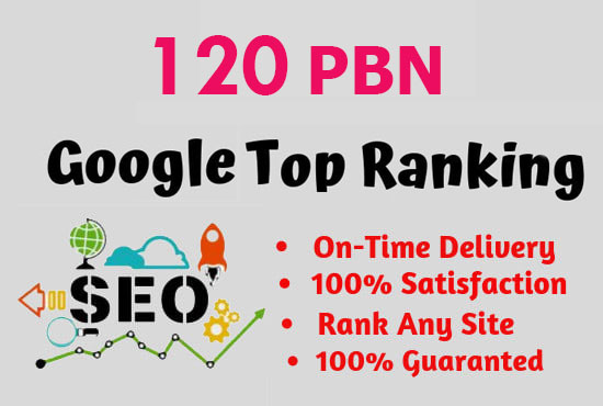 create 120 High Quality PBN Backlinks for SEO google top page