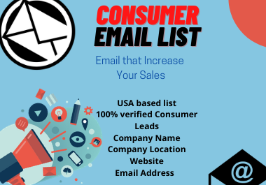Assuring 5k USA based consumer email list