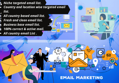 I will provide 1000 USA targeted emails for your business