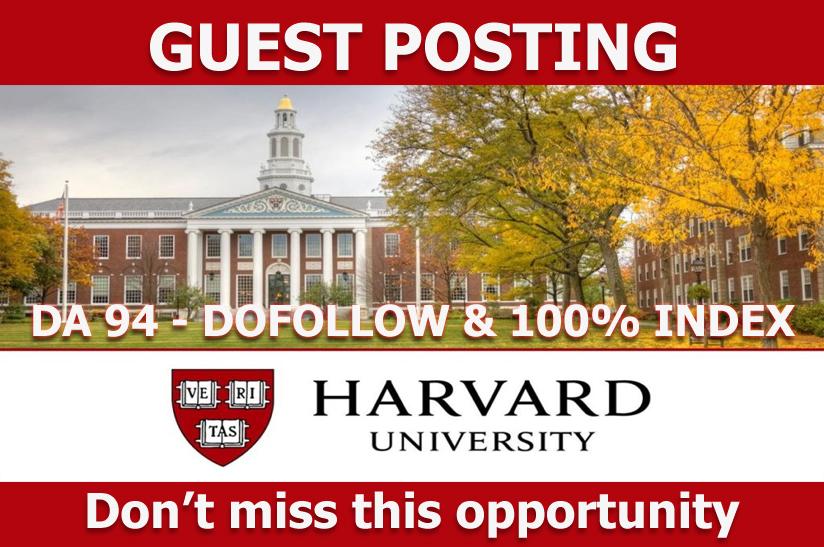 Guest Post On Blogs. harvard. edu DA94