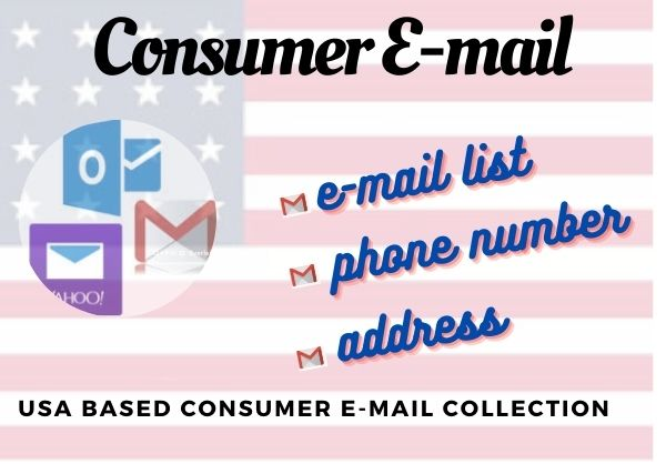I will provide you 1k Consumer email list
