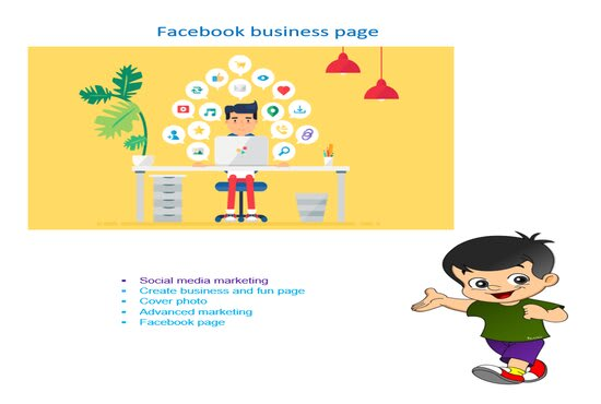 I will create professional Facebook business pages and social media