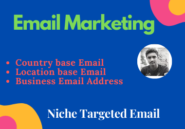 I will provide you world wide 1K Email list for your brand business by Email Marketing