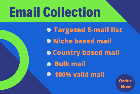 I will create niche based targeted email list for email marketing