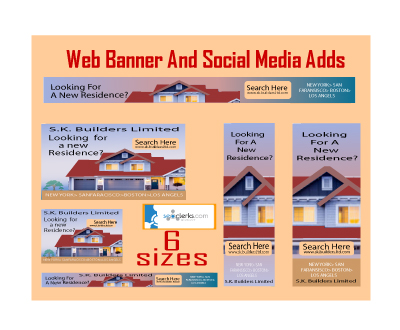 I will make a web banner, social media cover and banner ads