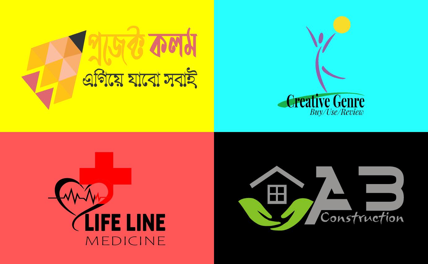 do simple creative modern minimalist unique professional business logo