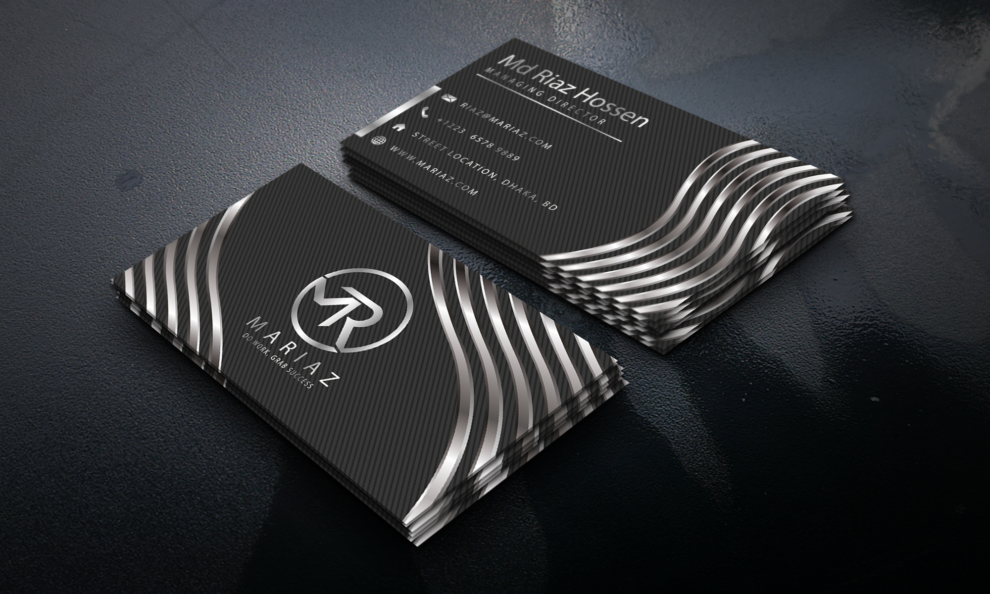I will do professional business cards design