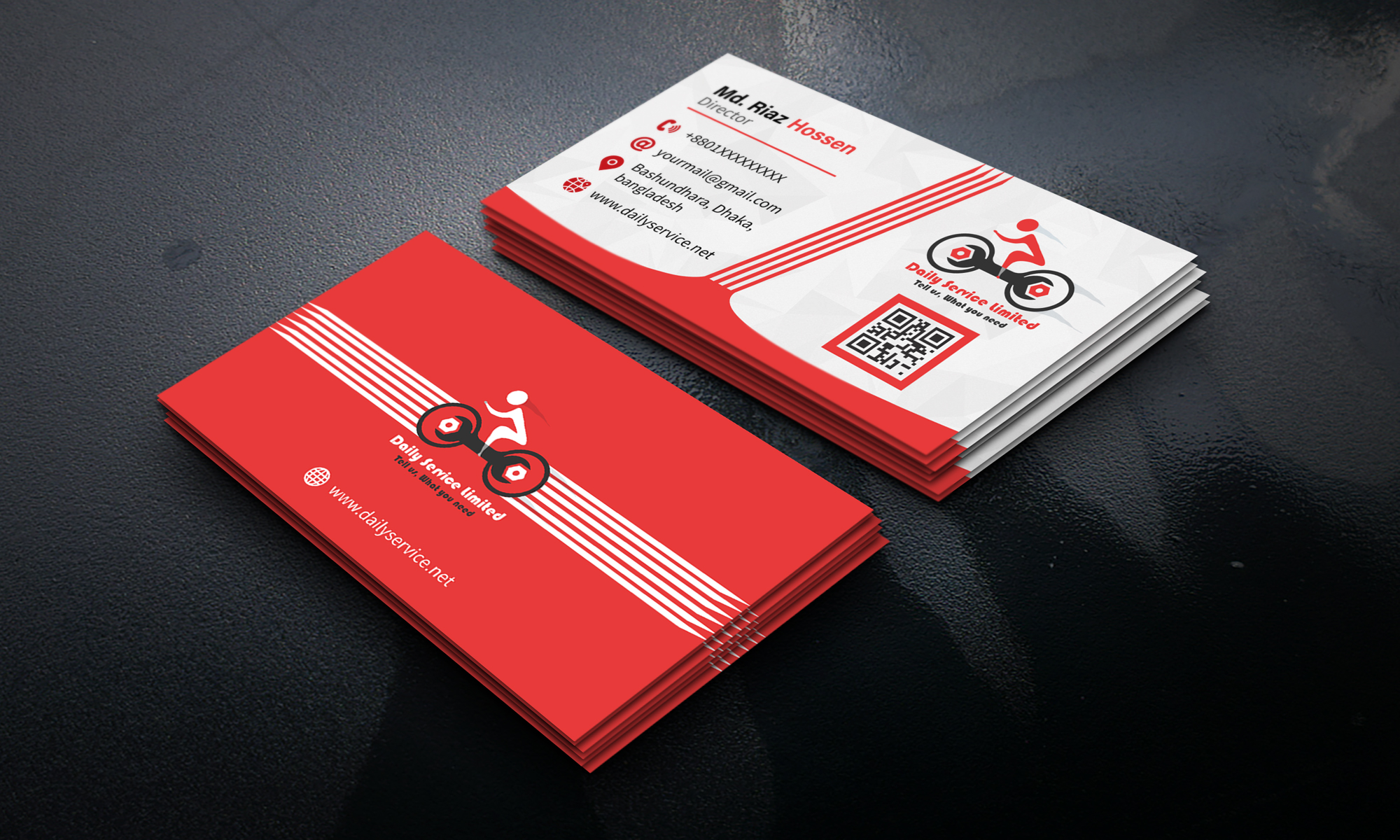 I will do professional business cards design