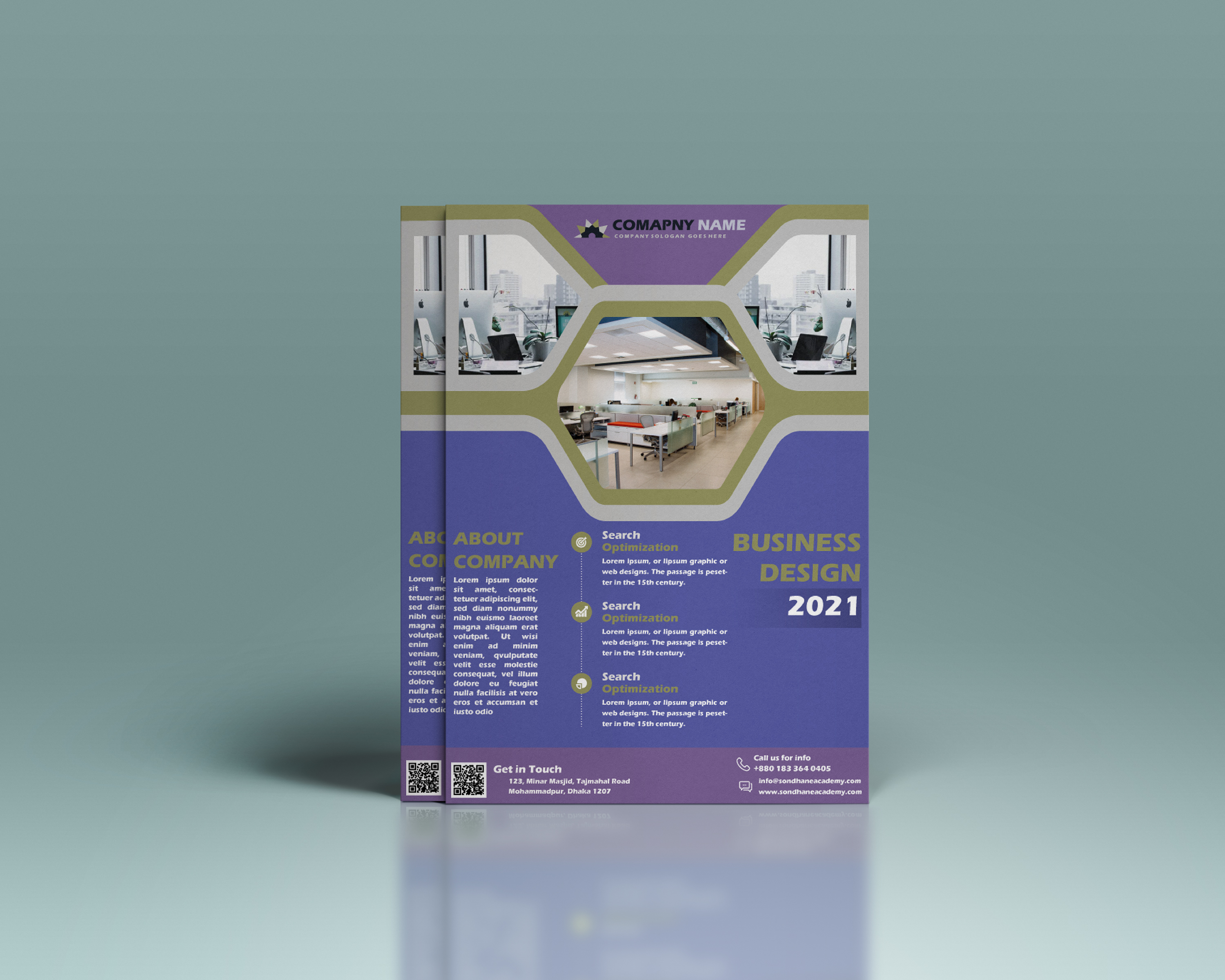 I will design an awesome flyer design