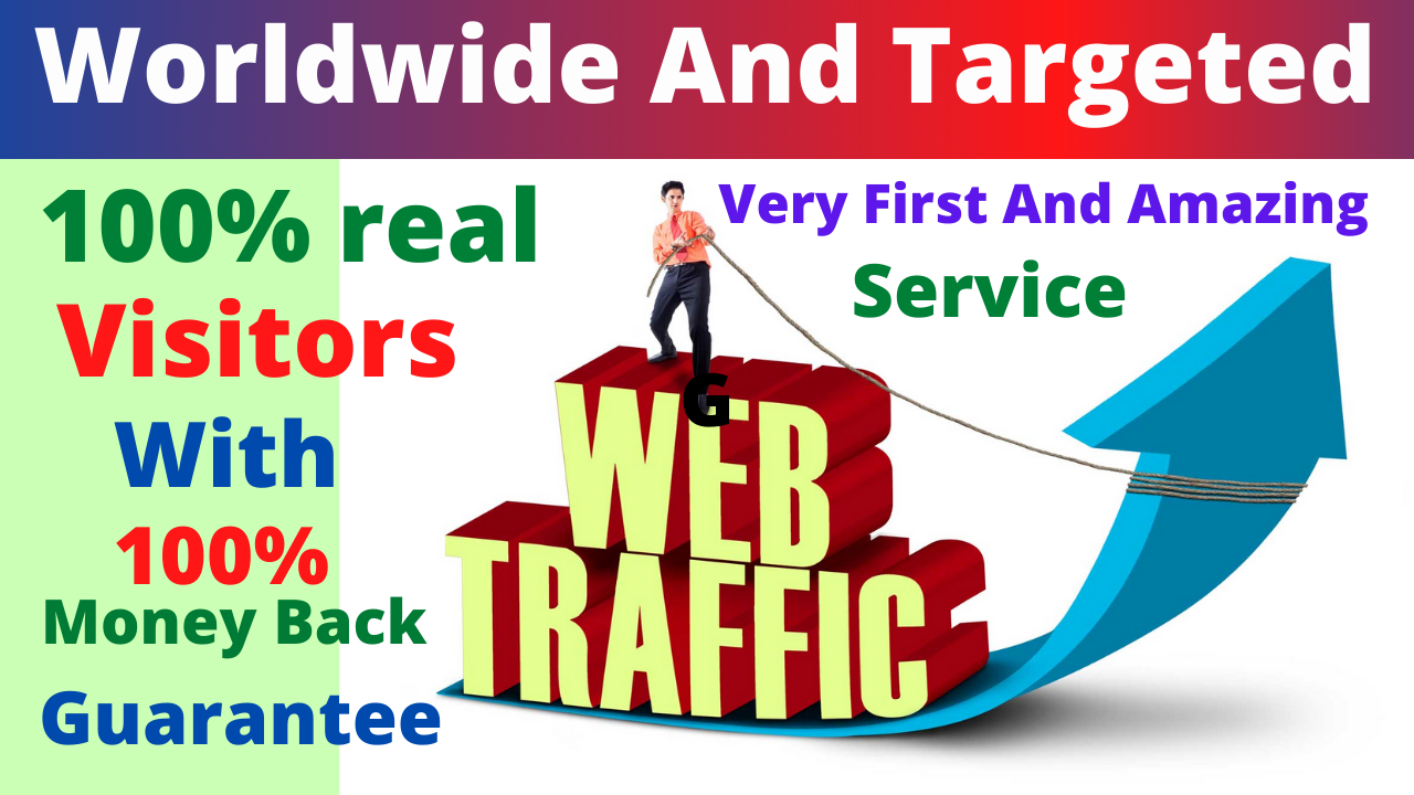 I Will Super Fast Send Low Bounce Organic Web-Traffic,  From The USA Or any country and Worldwide